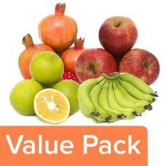 apple+banana+mosambi+pomegranate(anar) 4 kg pack