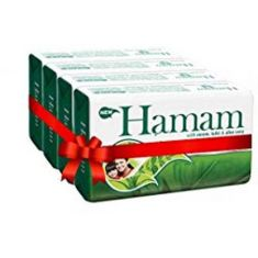 Hamam Soap Bar ( Pack of 4 )  (4 x 125 g)