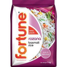 Fortune Basmati Rice  Rozana, 1 kg Pouch
