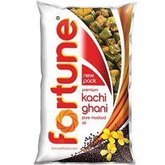 Fortun Kachi Ghani musterd oil 1L pouch