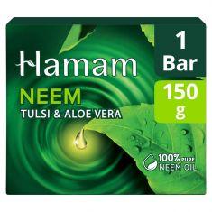 Hamam Neem Tulsi And Aloevera Soap Bar 150 g