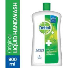 Dettol Original Liquid Hand Wash Refill Bottle  (900 ml)