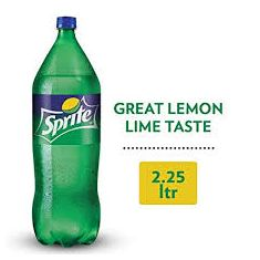 sprite soft drinks 2.25 L