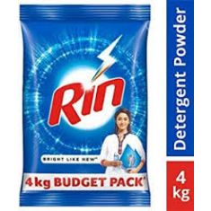 Rin detergent powder 4 kg